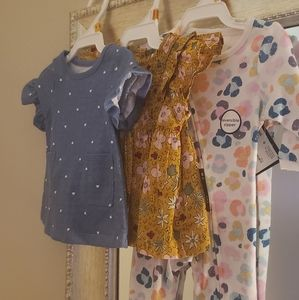 """💗 Set of """"3"""" Newborn Baby Girl Clothes 💗"""
